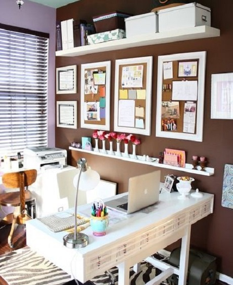 home-office-9 Modern And Stylish Designs Of Home Offices