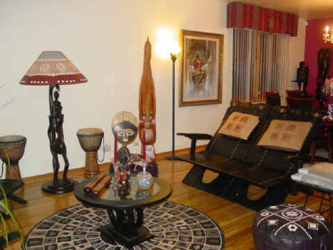 homefu4 African Style In The Interior Design
