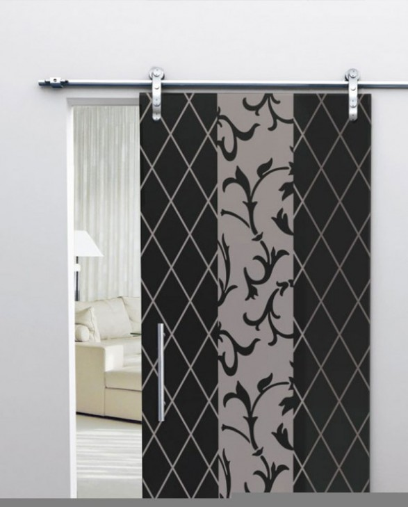 interior-sliding-glass-doors-587x729 Remodel Your Rooms Using These 73 Awesome Interior Doors