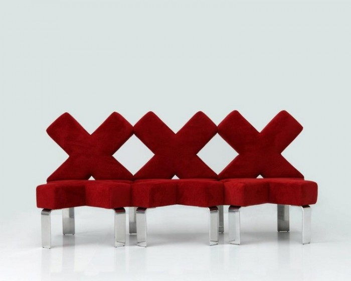 kisses 50 Creative and Weird Sofas for Your Home