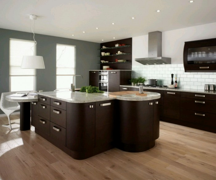 kitchen-cabinet-designs 45 Elegant Cabinets For Remodeling Your Kitchen
