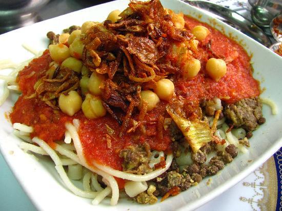 "koshary-when-all-the The National Dish Of Egypt ""Koshary"" With Its Recipe"