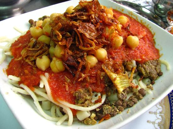 "koshary-when-all-the The National Dish Of Egypt ""Koshary"" With Its Recipe"