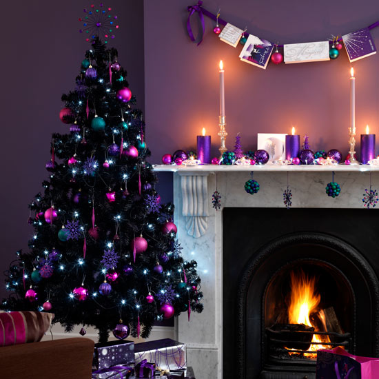 living-room-christmas-christmas-decorating-ideas-asda-roomenvy Tips With Ideas Of Decorations For Christmas Celebrations