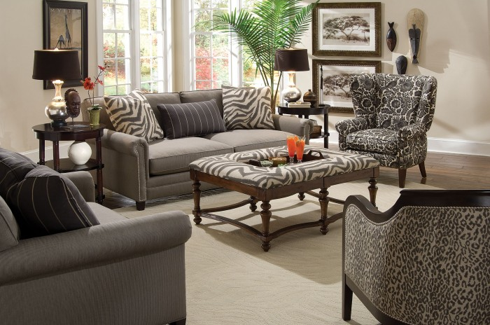 livingRoom12 African Style In The Interior Design