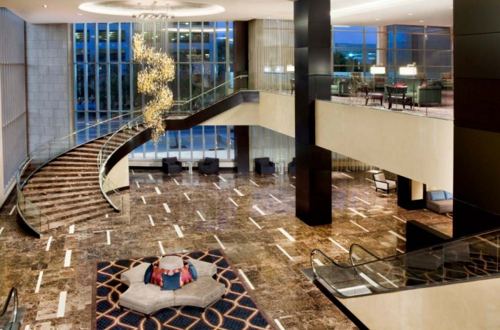 lobby-with-grand-staircase Make Your Home Look Like a Palace