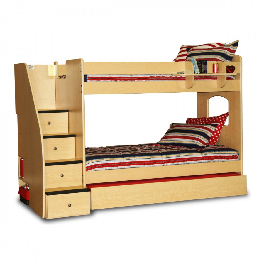 master-BRG771 Make Your Children's Bedroom Larger Using Bunk Beds