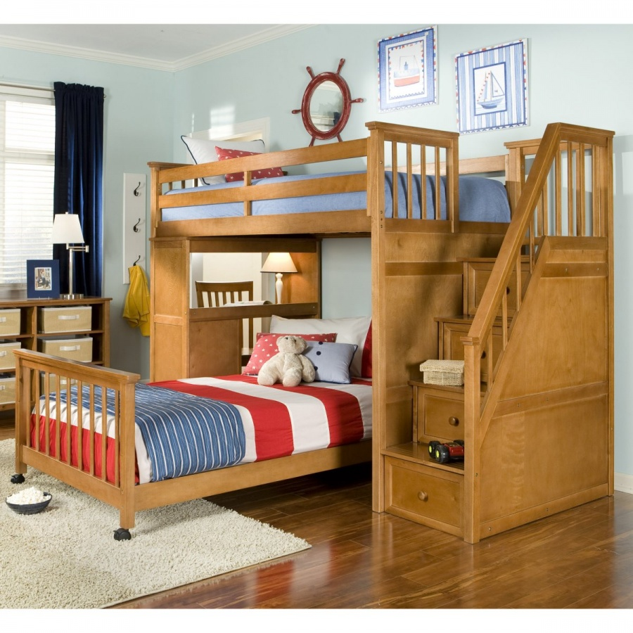 master-FUB422 Make Your Children's Bedroom Larger Using Bunk Beds
