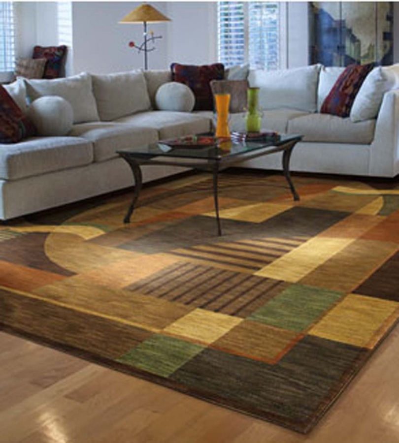 modern-area-rugs-living-room-decor-1 8 Tips On Choosing A Carpet For Your Living Room