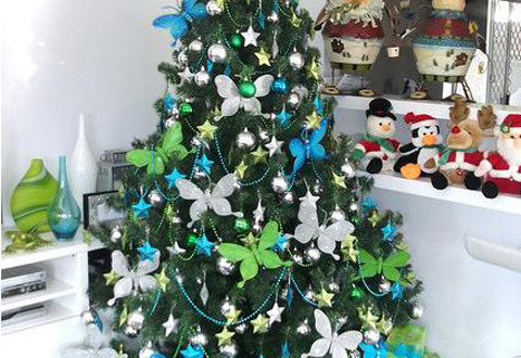 Modern decorating ideas for christmas tree 15 pouted online magazine latest design trends - Awesome the modern christmas decorations ...