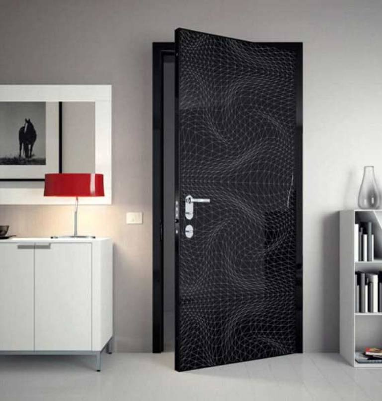 modern-doors-gray-interior-design-ideas-karim-rashid Remodel Your Rooms Using These 73 Awesome Interior Doors
