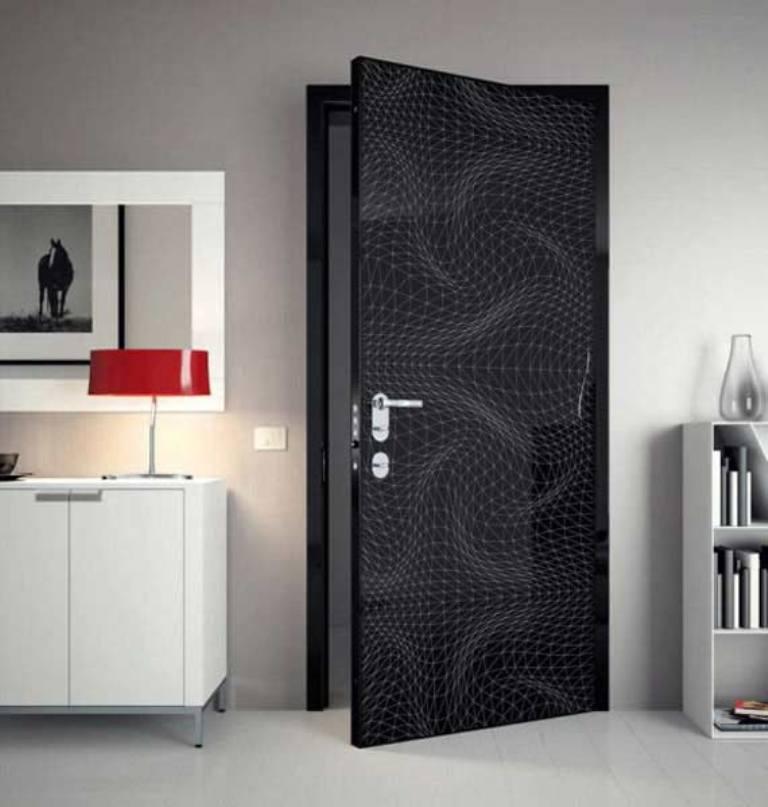 modern-doors-gray-interior-design-ideas-karim-rashid Remodel Your Rooms Using These 73 Awesome Interior Doors