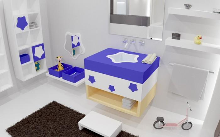 outstanding modern kids bathroom ideas | 25 Ideas Of Modern Designs For Kids Bathroom | Pouted