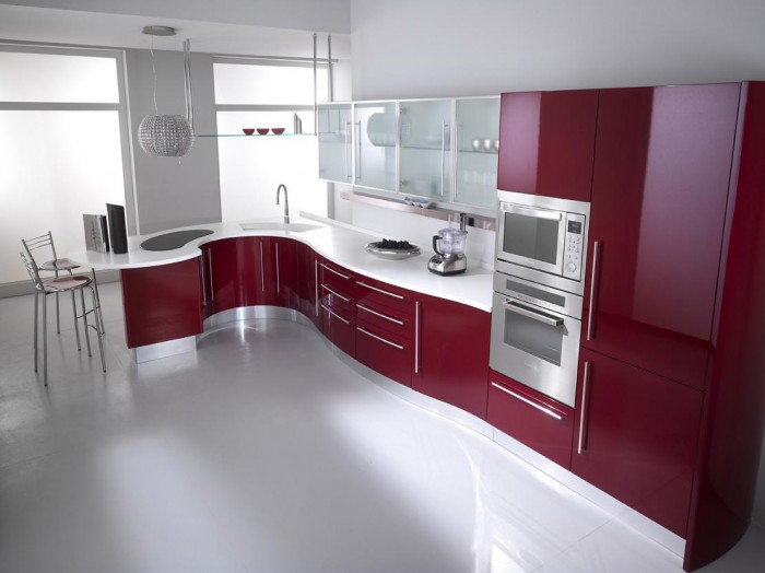 modern-kitchen-cabinets-from-italy-give 45 Elegant Cabinets For Remodeling Your Kitchen