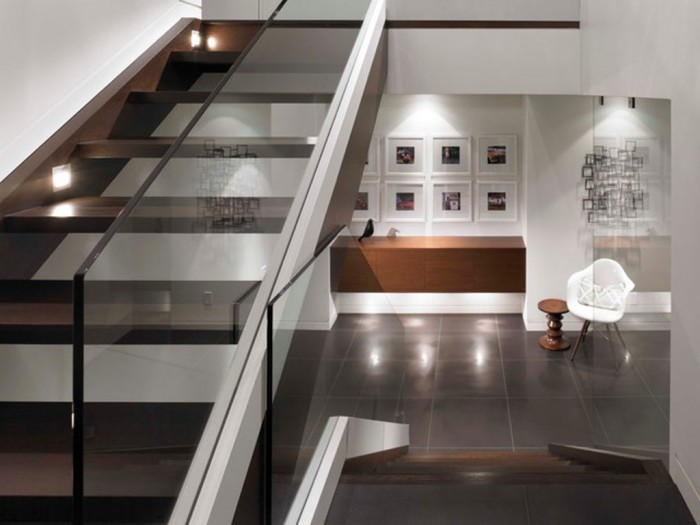 modern-staircase. Decorate Your Staircase Using These Amazing Railings