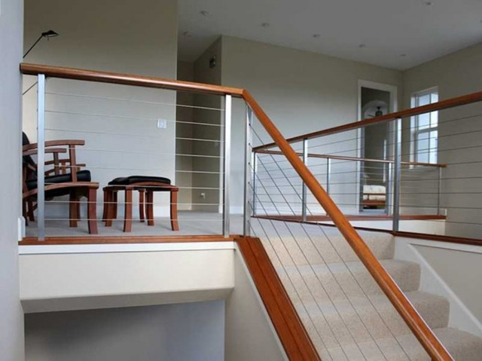 modern-staircase Decorate Your Staircase Using These Amazing Railings