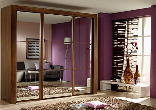 modern-wardrobe-with-mirror 35+ Modern Designs Of Wardrobes