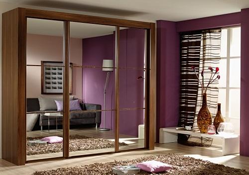 modern-wardrobe-with-mirror 35+ Modern Designs Of Wardrobes