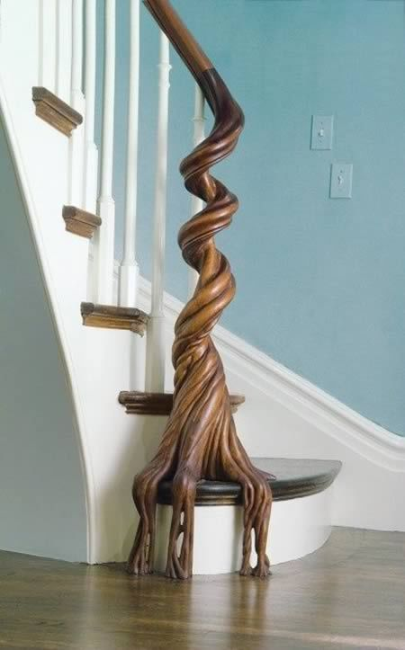 most_creative_banisters_01 Decorate Your Staircase Using These Amazing Railings