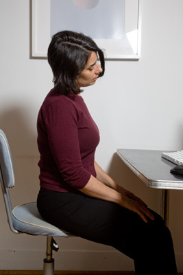 neckrolldesk Resolve Your Body's Tension At Work By Doing Computer Yoga