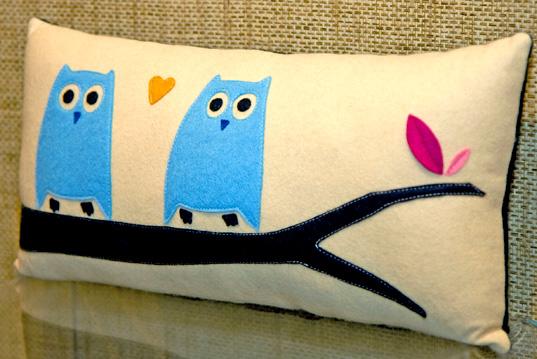 owlicious 21 Unique And Cute Pillows Designs