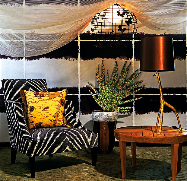 African Style In The Interior Design Pouted Online
