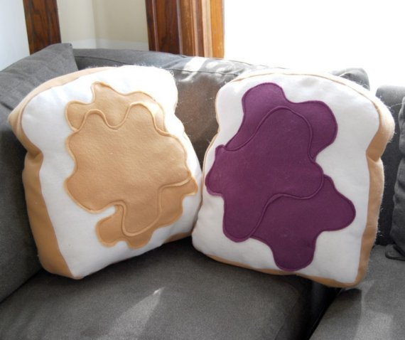 pbjpillow 21 Unique And Cute Pillows Designs