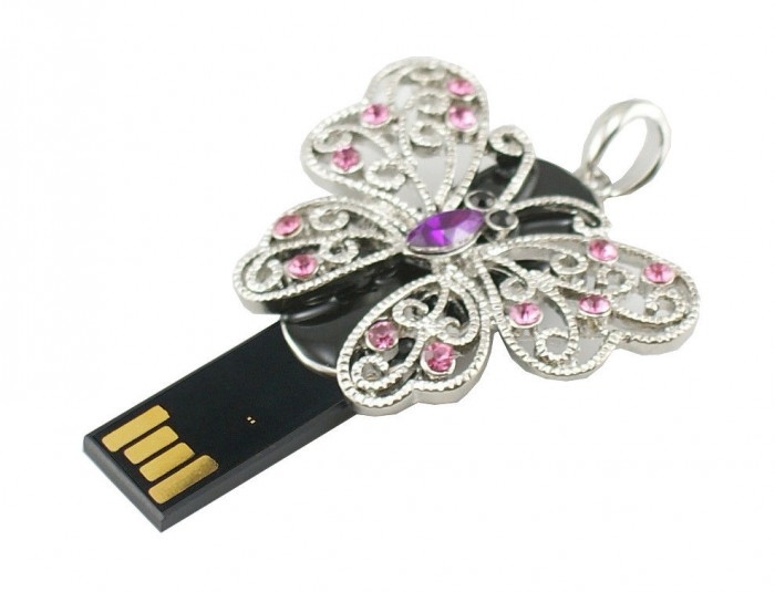 pl1342127-butterfly_shaped_jewelry_2gb_usb_2_0_flash_drive_support_win7 10 Inexpensive and Fabulous Spring Gift Ideas