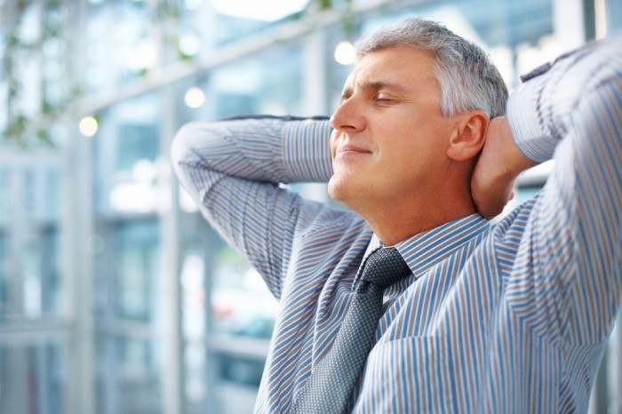relaxed-man Learn to End Your Anxiety Problem and Eliminate Panic Attacks Fast