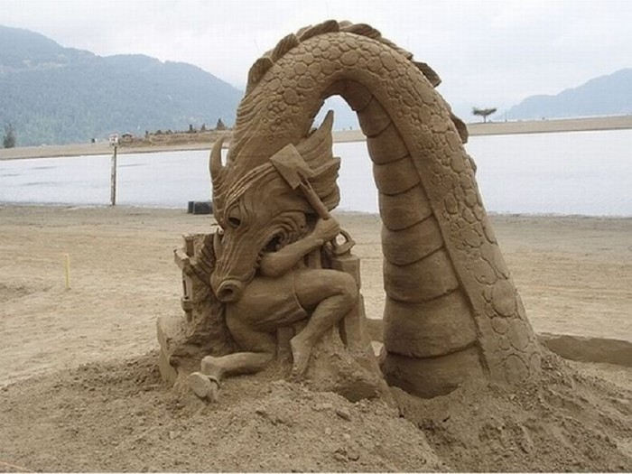 sand-art 30 Stunning Installations Made Of Sand Beach