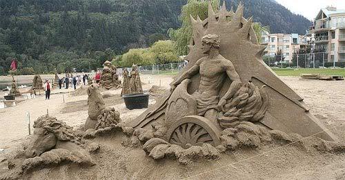 sand-art13 30 Stunning Installations Made Of Sand Beach