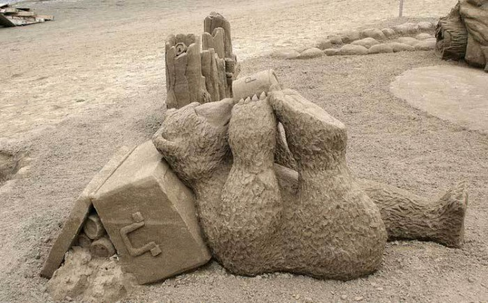 sand-art6 30 Stunning Installations Made Of Sand Beach