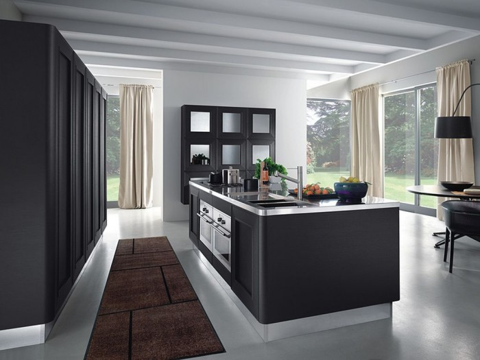 small-contemporary-kitchens 45 Elegant Cabinets For Remodeling Your Kitchen
