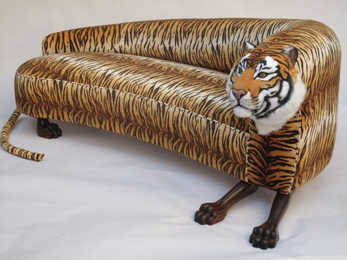 sofa-tiger1 50 Creative and Weird Sofas for Your Home