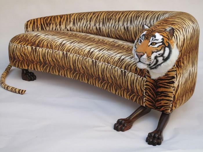 sofa-tiger1 50 Creative and Weird Sofas for Your Home