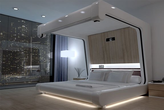 somnus-m 14 Amazing Interior Designs In High-Technology Style