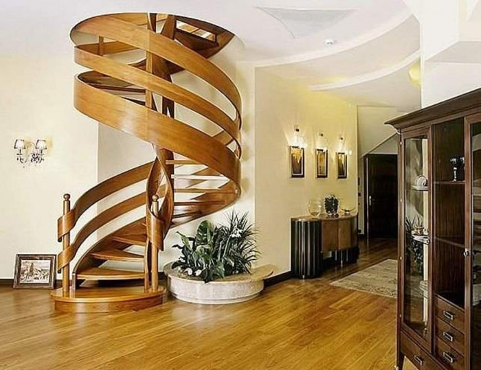 spiral-staircase-design-ideas Turn Your Old Staircase into a Decorative Piece
