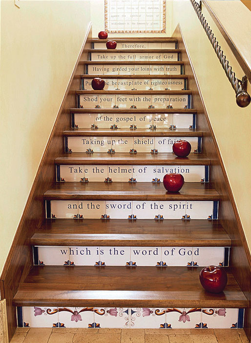 staircase-ideas Turn Your Old Staircase into a Decorative Piece