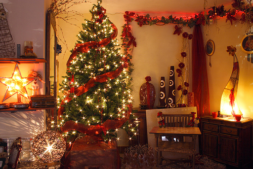 stylish-christmas-decor Tips With Ideas Of Decorations For Christmas Celebrations