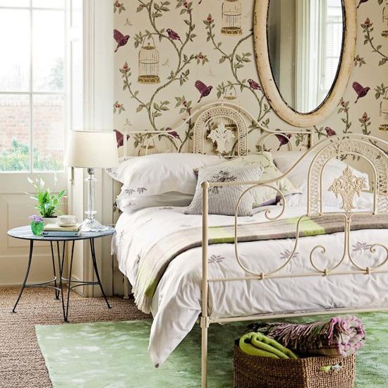 summer-bedroom-design-ideas-vintage-style-bedroom9 17 Wonderful Ideas For Vintage Bedroom Style