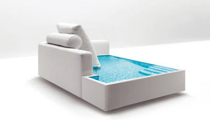 swimming-pool-sofa 50 Creative and Weird Sofas for Your Home