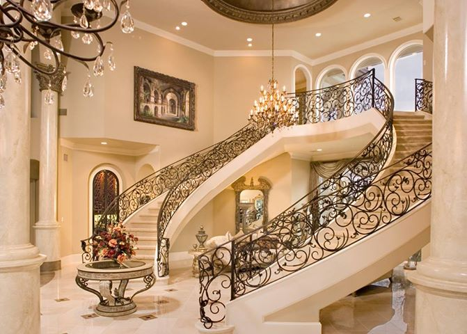two-staircases Make Your Home Look Like a Palace