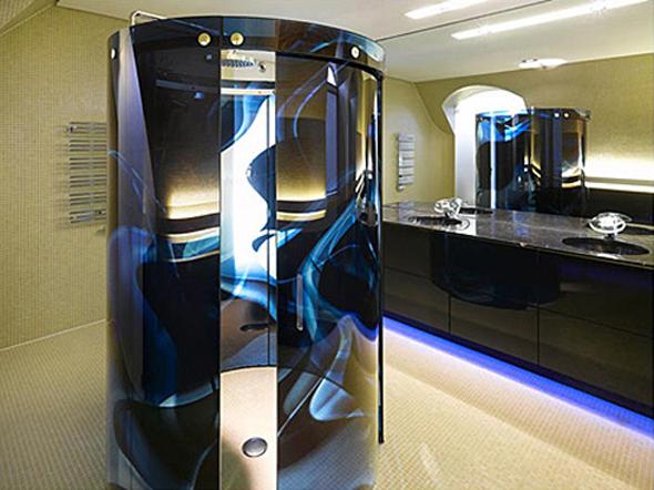 Ultra Luxury Technology Bathroom Interior Design
