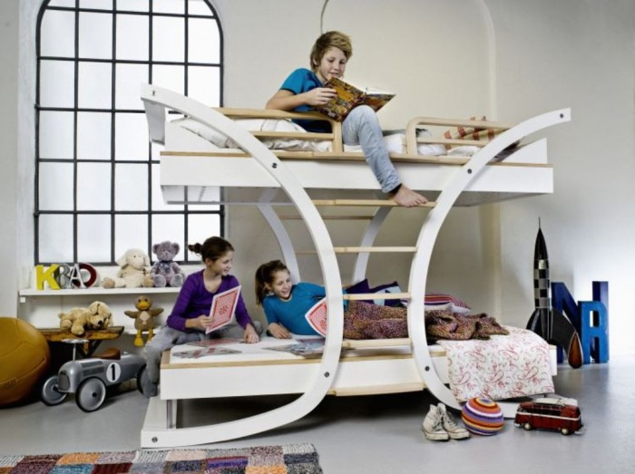 wave-2-bunk-bed-1 Make Your Children's Bedroom Larger Using Bunk Beds