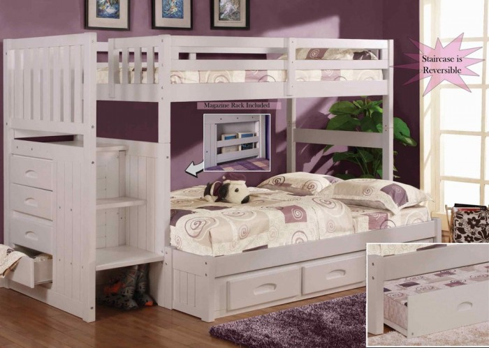 white-stair-stepper-bunk-bed-twin-full_1_3 Make Your Children's Bedroom Larger Using Bunk Beds