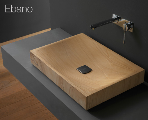 wooden-bathroom-sink 17 Modern Designs Of Bathroom Sinks