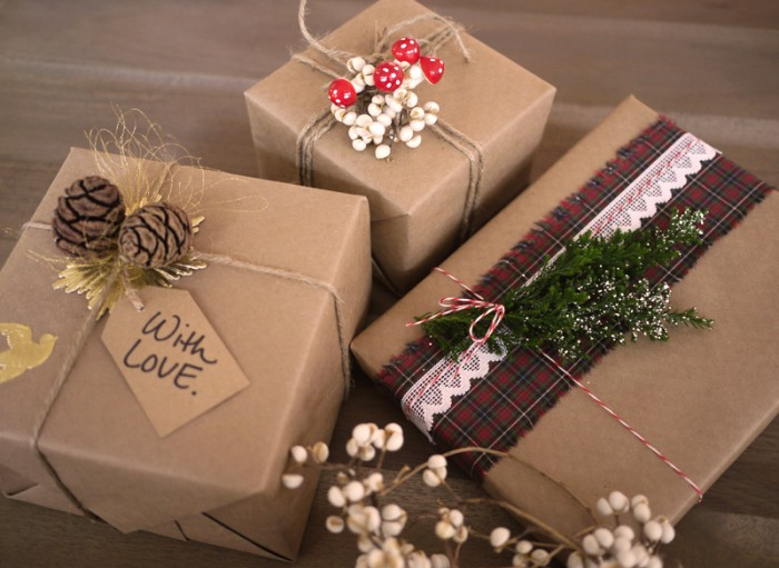 wrap171 35 Creative and Simple Gift Wrapping Ideas