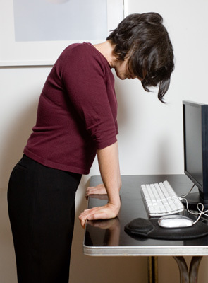 wriststretchdesk Resolve Your Body's Tension At Work By Doing Computer Yoga