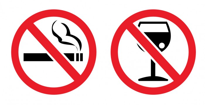 No-Smoking-No-Drinking 9 Tips To Restart Your Life