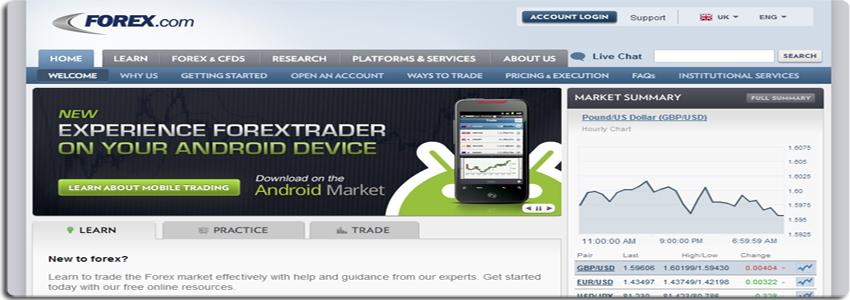 forexcom Complete Review On Forex.com Broker